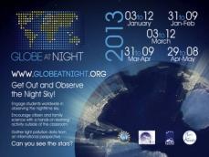 Celosvětová kampaň GLOBE at Night 2013