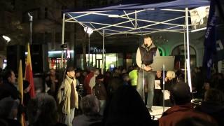 """Demonstrace 17.11.2012 Ostrava """"Demokracie vypadá jinak!!!"""""""