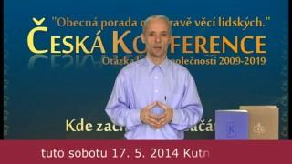 Karel Kříž, Pozvanka na VI. ročník ČESKÉ KONFERENCE
