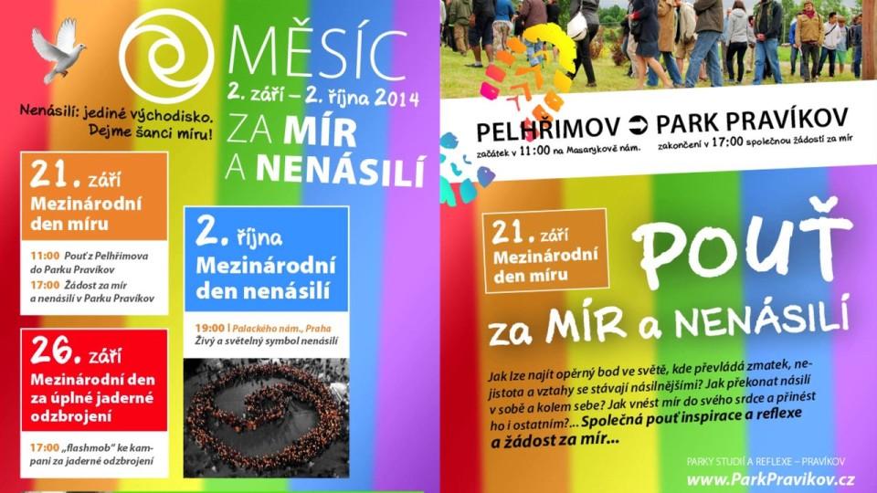 Dana Feminová, Táňa Bednářová, Dejme šanci míru!