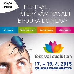 FESTIVAL EVOLUTION 2015 – ŽIVĚ
