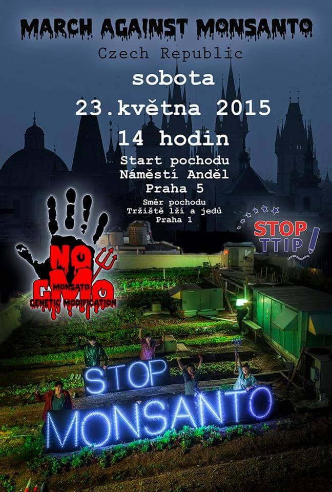 Pochod proti Monsantu 2015