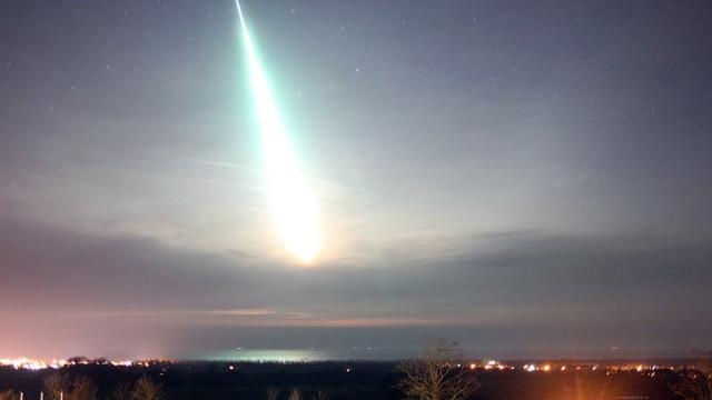 V blízkosti Kodaně dopadl meteorit