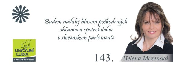 SLOVENSKO, AKO HO VIDÍM V BUDÚCNOSTI – HELENA MEZENSKÁ