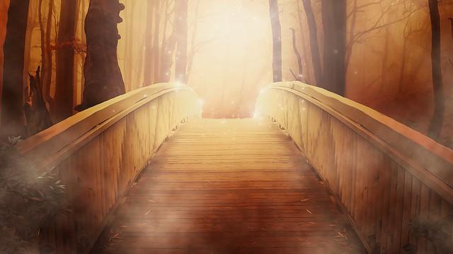 Most přes hlubinu věků