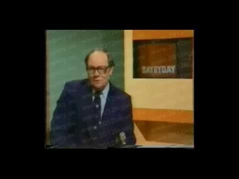Mimozemský posel přerušil televizní vysílání v roce 1977 a promluvil k lidstvu