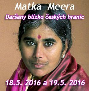 matka meera u českých hranic
