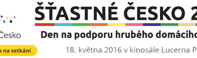 ŠŤASTNÉ ČESKO 2016