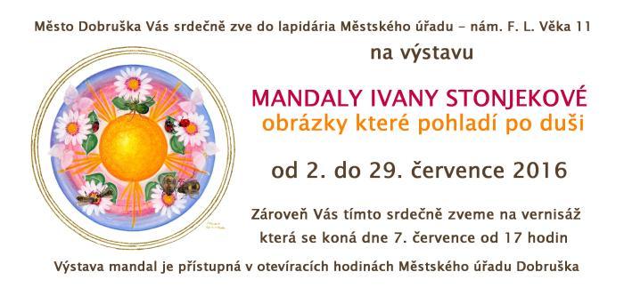Pozvánka výstava Dobruška 07-2016