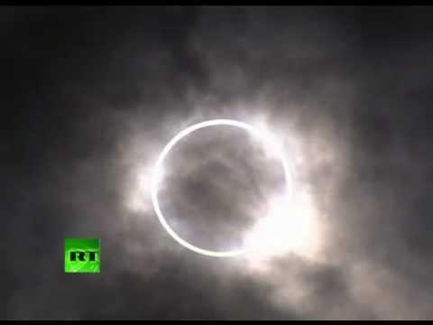 Prstencové zatmění Slunce v Africe sledujte online