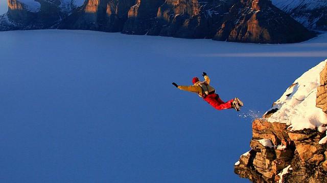 Někdy je potřeba odvážit se a skočit ze svého útesu…