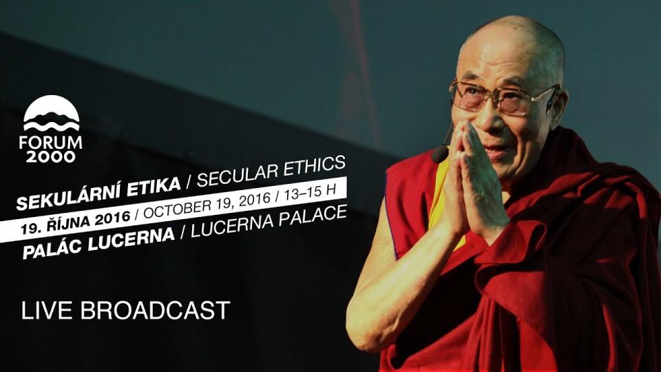 PŘÍMÝ PŘENOS – Veřejná přednáška Jeho Svatosti 14. dalajlamy