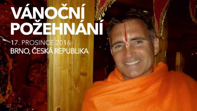 Vánoční požehnání Svámího Vishwabaladharanandy