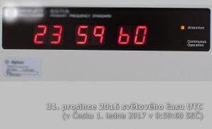 Nový rok začne ve světovém čase o sekundu později