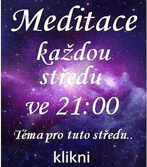Meditace každou středu ve 21h