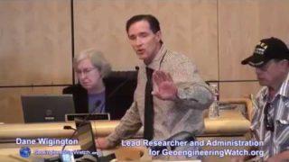 Občané Kalifornie vyžadují vyšetřování zločinů chemtrails