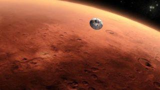 Raketou na Mars – trvá to 6 min