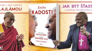 Kniha radosti, Jeho Svatost dalajláma XIV., Desmond Mpilo Tutu, Douglas Abrams